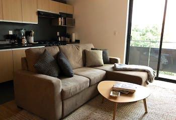 Departamento en venta en Cuahùtemoc, 117mt con balcon