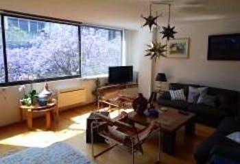 Departamento en venta en Polanco, 206mt con terraza