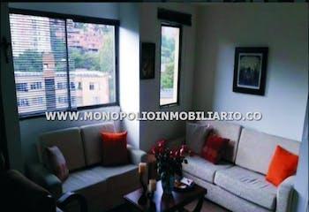 Apartamento en venta en Loma De Los Bernal de 4 hab. con Bbq...