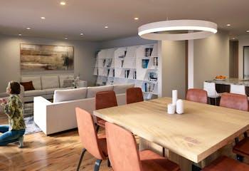 Departamento en venta en Condesa, 92mt con terraza