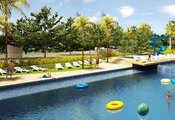 Citadela Di Agua, Apartamentos nuevos en venta en Vereda Llano De Aguirre con 2 hab.