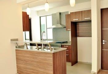 Departamento en venta en Tetelpan, 117mt con balcon