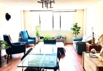 Departamento en venta  en San Miguel Chapultepec, Con 2 Recamaras-90mt2
