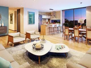 Una sala de estar llena de muebles y una mesa en Club House 127