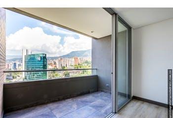 Apartamento en La Aguacatala-El Poblado, con 2 Habitaciones - 88.59 mt2.