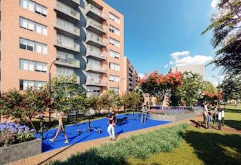 Proyecto de vivienda, Hacienda Alcala Cerezo, Apartamentos en venta en Serrezuela 65m²