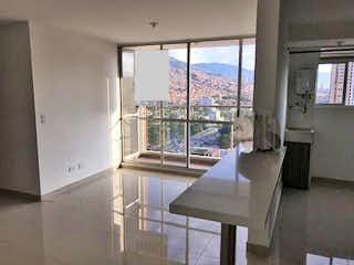 Una vista de una sala de estar y comedor en Apartamento en Bello, Cabañas 90 mt2, tres alcobas, balcón
