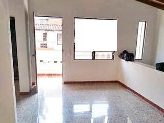 Una vista de una sala de estar y una sala de estar en  CA 2 PISO