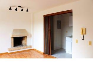 Apartamento en San Patricio, Santa Barbara - 42mt, una alcoba, chimenea