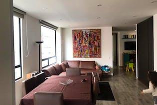 Apartamento en Chapinero Alto, Chapinero - 102mt, tres alcobas, balcón