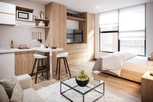 Smart Habitat, Apartamentos en venta en Prado Pinzón con 24m²
