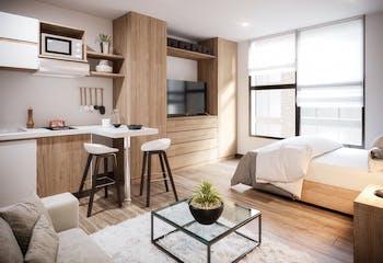 Vivienda nueva, Smart Habitat, Apartamentos nuevos en venta en Prado Pinzón con 1 hab.