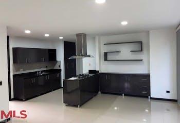 Apartamento en El Portal, Envigado - 139mt, tres alcobas, terraza con jacuzzi