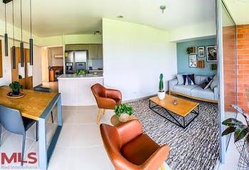 Apartamento en Toledo, La Estrella - 60mt, dos alcobas, balcón