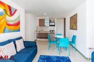 Apartamento en La Abadia, Envigado - 82mt, tres alcobas, balcón
