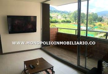 Apartamento en La Ferreria, La Estrella - 60mt, dos alcobas, balcón