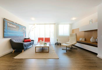 Rivera de Suramérica, Apartamentos en venta con 74m²