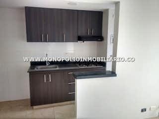 Cocina con fogones y microondas en CEIBA DEL NORTE 1102