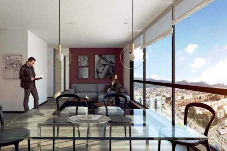 Portada Apartamento 94 mts2-Ubicado en- Pasadena-Puente Largo,2 Habitaciones.