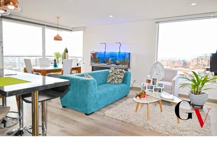 Portada Apartamento en Chapinero Alto, Chapinero - 85mt, dos alcobas, balcón