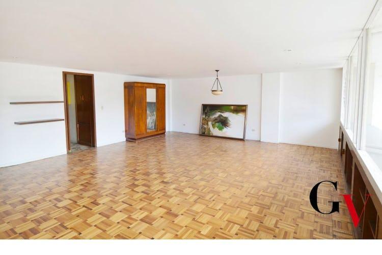 Portada Apartamento en Chicó Reservado, Chico - 187mt, cuatro alcobas, chimenea