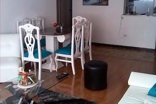Apartamento en Chico Reservado, Chico - 100mt, tres alcobas