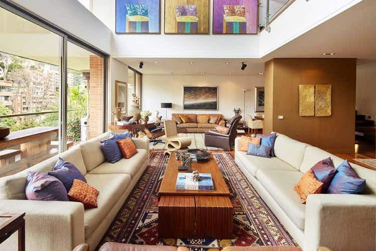 Portada Apartamento en Chicó-Rosales, con 4 Habitaciones - 408 mt2.