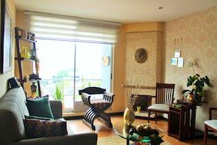Apartamento en Cedritos-Contador, con 3 Habitaciones - 87 mt2.