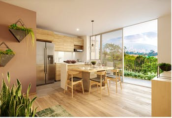 Palma - Verde Vivo, Apartamentos en venta en Suramérica de 1-2 hab.