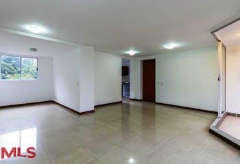 Apartamento en El Tesoro, Poblado - 103mt, tres alcobas, balcón