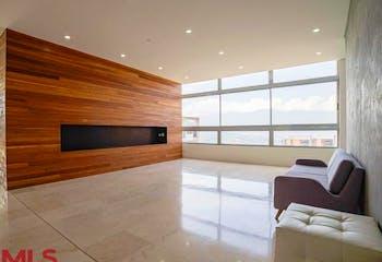 Penthouse en Loma de las Brujas, Envigado - 240mt, tres alcbas, jacuzzi