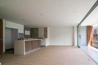 Apartamento en Loma de las Brujas, Envigado - 147mt, tres alcobas, balcón