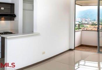 Apartamento en Ditaires, Itagui - 60mt, tres alcobas, balcón