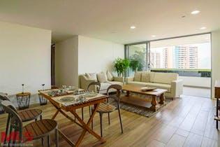 Apartamento en Loma de las Brujas, Envigado - 134mt, tres alcobas, balcón