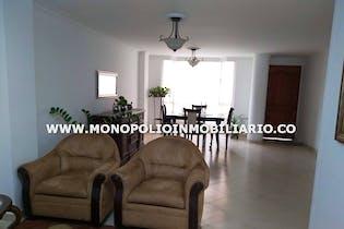 Apartamento en El Portal, Envigado - 114mt, tres alcobas, balcón