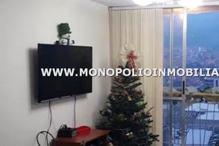 Apartamento en Santa Maria, Itagui - 58mt, tres alcobas, balcón
