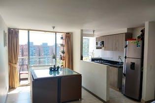Apartamento en La Cuenca, Envigado - 65mt, tres alcobas, balcón