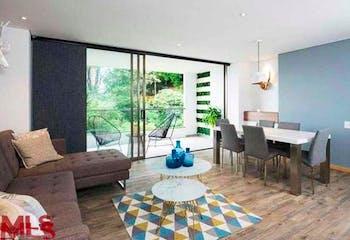 Apartamento 87,69 mts2-Ubicado en el Poblado-la aguacatala,2 Habitaciones.