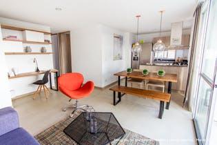 Apartamento en Rionegro, Rionegro - 71mt, tres alcobas, balcón
