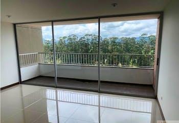 Apartamento en San Antonio de Pereira, Rionegro - 67mt, tres alcobas, dos balcones