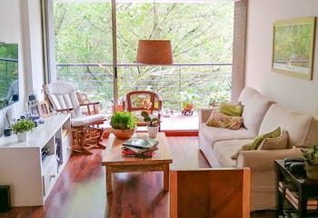 Apartamento en Los Balsos, Poblado - 118mt, tres alcobas, balcón