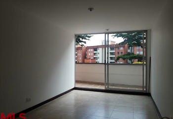 Apartamento 75,8 mts2-Ubicado en Envigado-Loma de Cumbres,3 habitaciones.