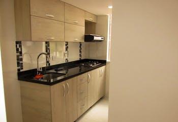 Apartamento en el Salado, Envigado, con 3 habitraciones- 55m2.