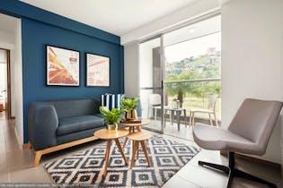 Apartamento en Loma De Los Bernal, Belén, 3 habitaciones- 69m2.