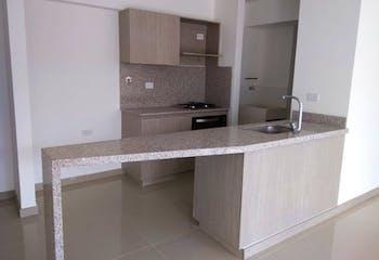 Apartamento en Calle Larga, Sabaneta, 2 Habitaciones- 62m2.