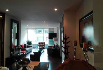 Apartamento en Santa Bárbara Central - 2 alcobas, pisos en madera