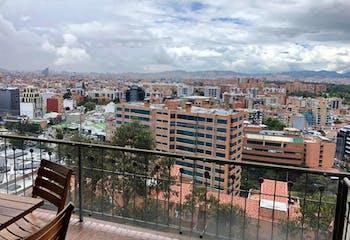Apartamento en Usaquén, Bogotá - con terraza, balcón amplio