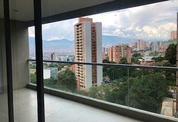 Apartamento en El Poblado, Medellín - con tres alcobas
