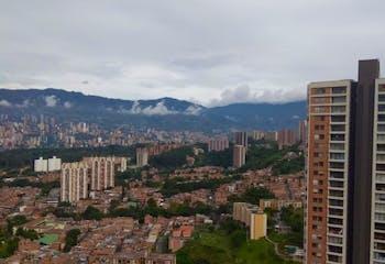 Apartamento de 98m2 en Medellín, Loma de los Bernal - con tres habitaciones