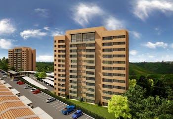 Apartamento en venta en San Antonio De Pereira de 1 hab.